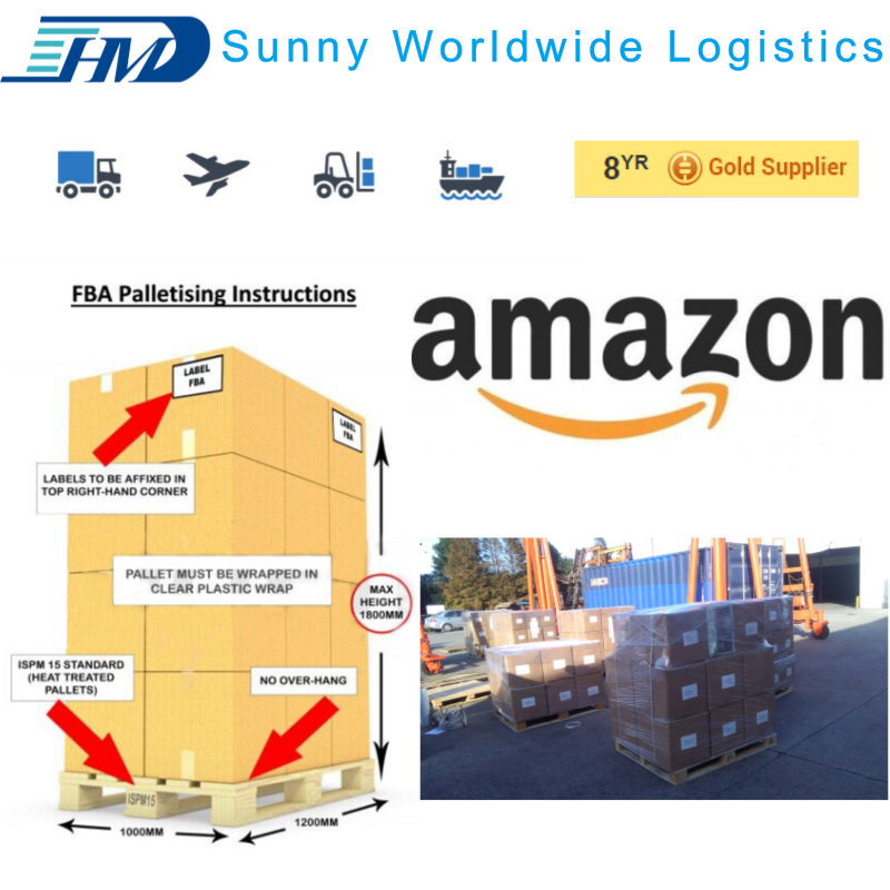 Care For the Cargo More than The Owner China agent from China to the USA Amazon warehouse