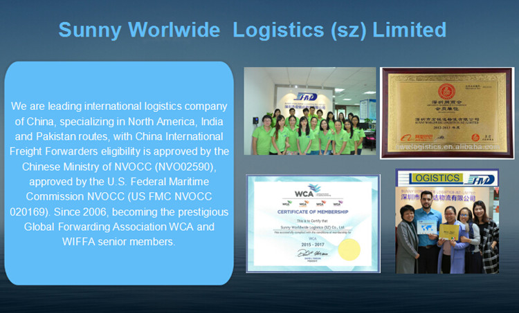 Sea Freight Forwarder China to Fos France FCL Shipping