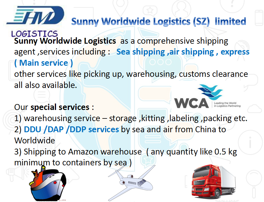China shipping agent