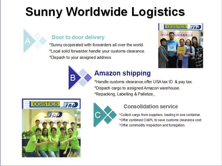 International forwarding company from Shenzhen to Napoli