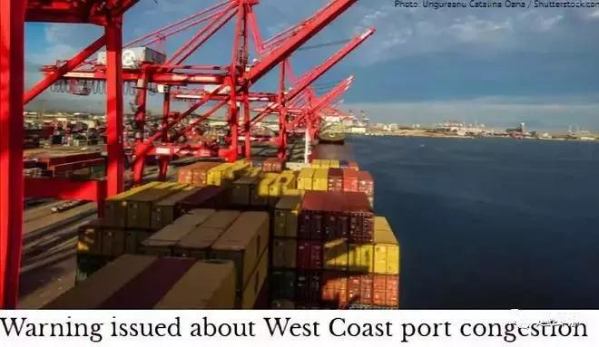 US port congestion continues to deteriorate! Shipping company issued