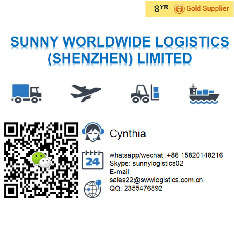 international sea freight  air freight to worldwide