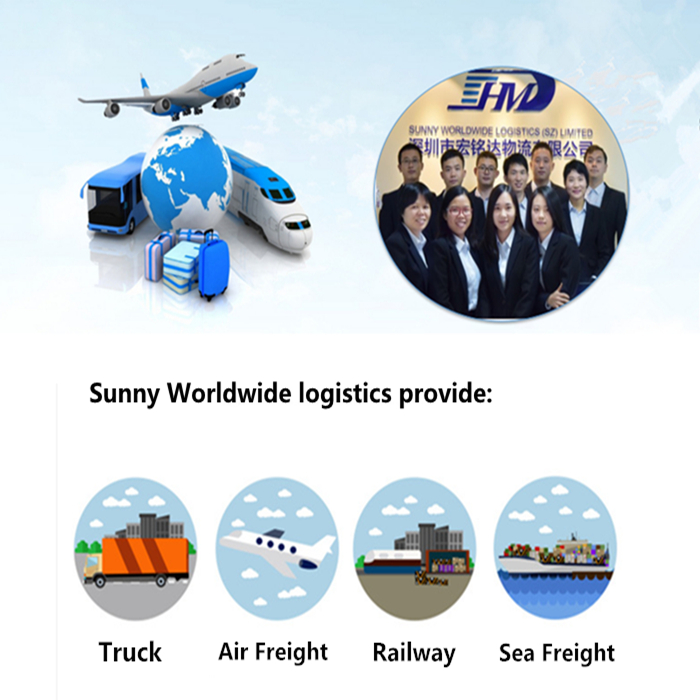 DDP Sea freight forwarder shipping to Thailand door to door