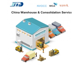 China Consolidation Services Trucking Services Storage Warehouse Service