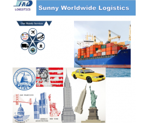 DDP DDU sea freight from China to Usa Chicago New York Miami door to door service