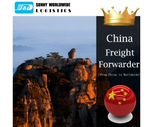From China to USA door to door freight forwarding agent sea freight
