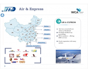 air cargo freight rates custom clearance from China to