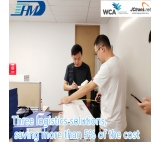 Air freight forwarder from China door to door transportation service direct flights to London
