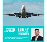 Air shipping agent from Shenzhen Shanghai China to Minneapolis USA air freight door to door delivery