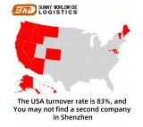 China freight forwarder sea shipping rates China to USA