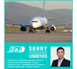 Door to door shipment service Air freight shipping company from China to Dortmund Germany FBA service