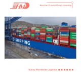 FCL container sea freight logistics agent from Shanghai to Los angeles door to door delivery