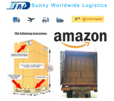 FCL sea container shipping Amazon FBA shipping to USA Amazon warehouse