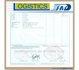 Form A/ CO export documents service offered by forwarder