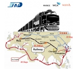 International Rail Route to Kazakhstan Europe Russia Belarus Poland Germany