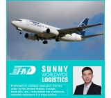 International air transportation from China to Paris France air freight door to door delivery