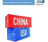 LCL sea freight service  door to door delivery from Guangzhou to Houston