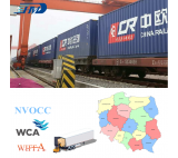 Railway Transport Shipping Container from China to Poland