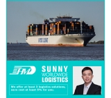 Sea shipping agent door to door delivery service cargo shipping from China to Indianapolis USA customs clearance