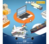 Shenzhen air freight forwarder door to door delivery service transport  from China to Europe