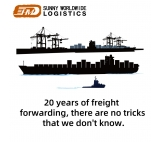 Shenzhen freight forwarder sea freight door to door shipping to Canada