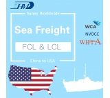 Tianjin to New York FCL and LCL sea freight service