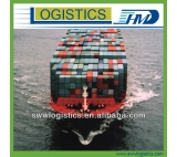 Sea cargo door to door service from China to Madri