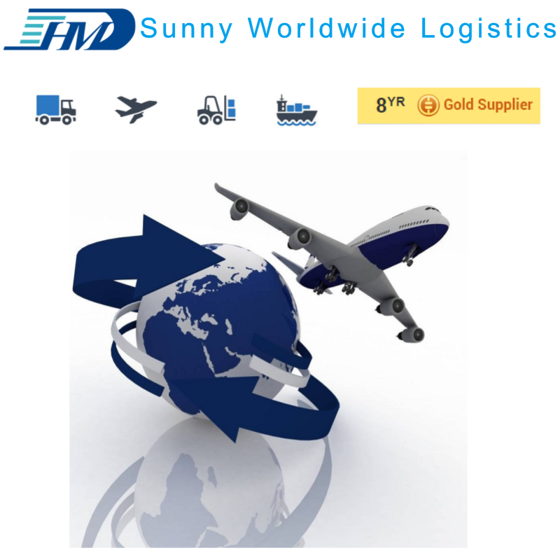 Air shipping agent From China Guangzhou Shanghai to San Jose