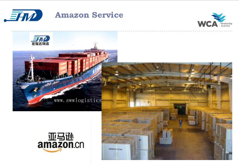 Amazon FBA sea freight from China to USA,UK,France Amazon