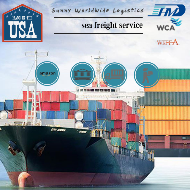 China sea freight shipping agents from China to Memphis USA