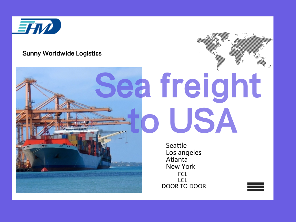 FCL container sea freight door to door delivery logistics service from Guangzhou to New York ?  sc 1 st  Sunny Worldwide Logistics & FCL container sea freight door to door delivery logistics service ...