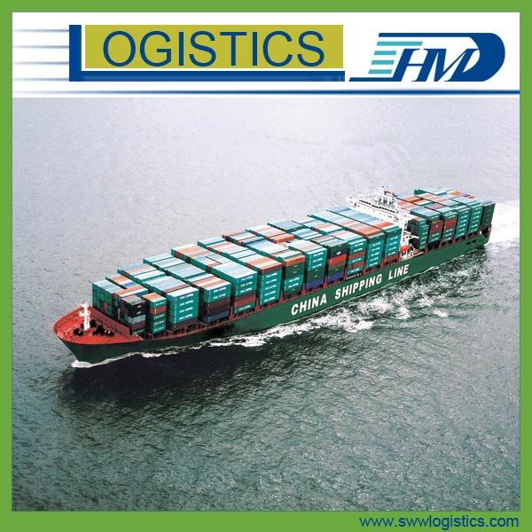 Sea shipping freight door to door from china to the south for Door to door transport